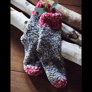 Free People Vancouver Slipper Fuzzy Socks